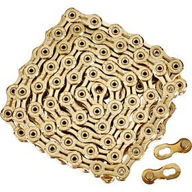 KMC X11SL Ti-N Bicycle Chain 11-stegs gold